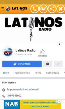 Latinos Radio NET screenshot 3
