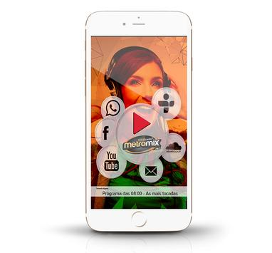 Rádio Metromix screenshot 4