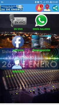 RADIO 26 DE ENERO poster
