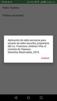 Radio Tepeaca screenshot 2