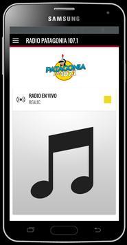 Radio Patagonia 107.1 poster