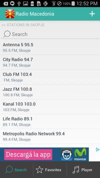 Macedonian Radio screenshot 4