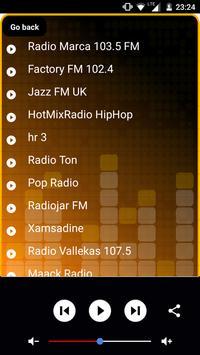Radio RTBF Musiq3 screenshot 5