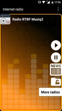 Radio RTBF Musiq3 screenshot 6