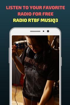 Radio RTBF Musiq3 screenshot 2