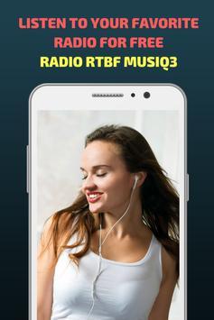 Radio RTBF Musiq3 screenshot 3