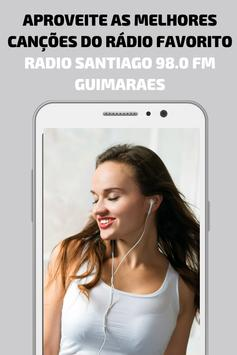 Radio Santiago FM Guimaraes Portugal App gratis screenshot 1