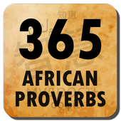 An african quote per day icon