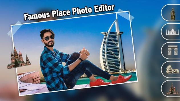 Famous Place Photo Editor screenshot 1