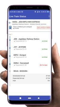Indian Railway - Train live status, PNR & enquiry screenshot 1