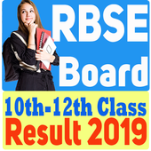 Rajasthan Board 10th/12th Class Results 2019 icon