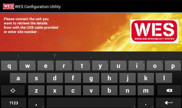 Wes Configuration Tool screenshot 1