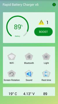 Rapid Battery Charger x6 screenshot 5
