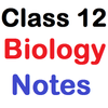 Class 12 Biology Notes icon