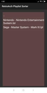 RetroArch Playlist Sorter for Android - APK Download