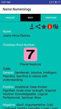 Chaldean Numerology screenshot 10