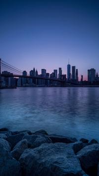City Skyline Live Wallpaper الملصق