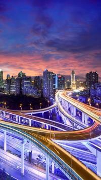City Skyline Live Wallpaper screenshot 2