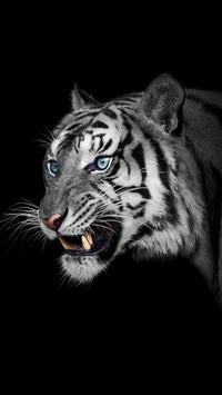 White Tiger Live Wallpaper screenshot 1