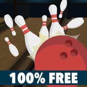 ボウリングストライク|2020年最新ボウリングゲーム・完全無料・操作簡単・単純だけど面白い アイコン