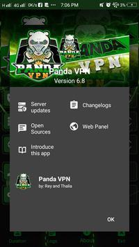 Panda VPN screenshot 1
