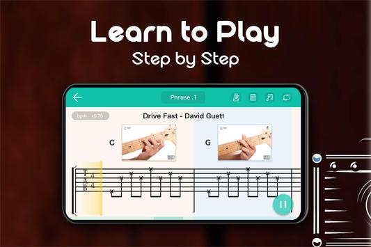 Real Guitar - Free Chords, Tabs & Simulator Games تصوير الشاشة 7