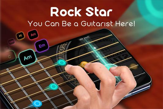 Real Guitar - Free Chords, Tabs & Simulator Games الملصق