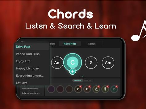 Real Guitar - Free Chords, Tabs & Simulator Games تصوير الشاشة 14