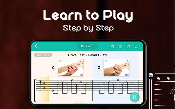 Real Guitar - Free Chords, Tabs & Simulator Games تصوير الشاشة 23