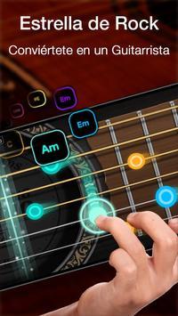 Simulador de guitarra con ritmo libre y juegos Poster