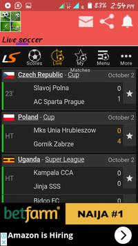 Real live soccer proplus screenshot 3