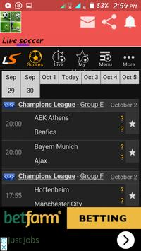 Real live soccer proplus screenshot 1