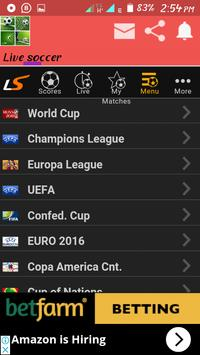 Real live soccer proplus screenshot 2