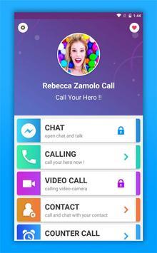 Rebecca Zamolo Call poster