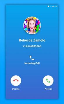 Rebecca Zamolo Call screenshot 1