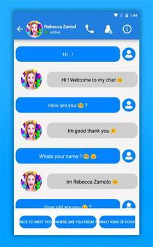 Rebecca Zamolo Call screenshot 2