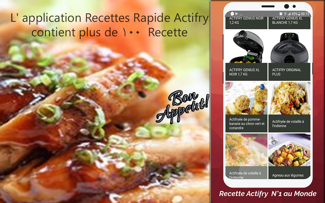 Recettes Actifry For Android Apk Download