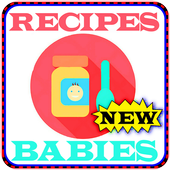 Simple recipes for babies icon