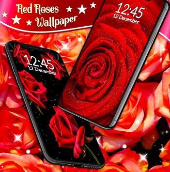 Red Rose Live Wallpaper capture d'écran 4