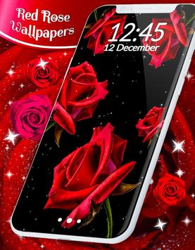 Red Rose Live Wallpaper capture d'écran 5