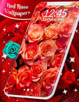Red Rose Live Wallpaper capture d'écran 6