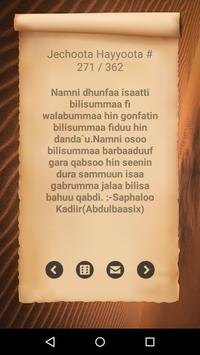 Jechoota Hayyoota Oromoo screenshot 6