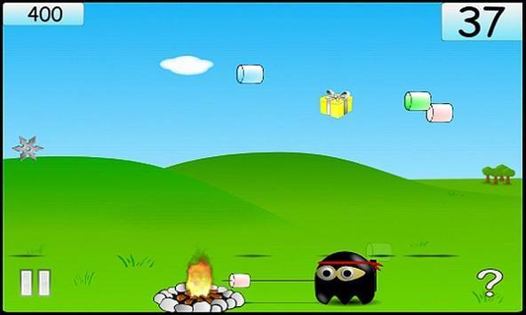 Marshmallow Ninja (Lite) screenshot 1