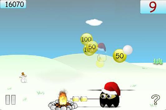 Marshmallow Ninja (Lite) screenshot 2