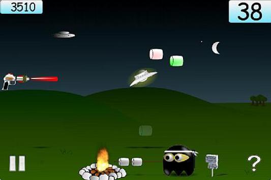 Marshmallow Ninja (Lite) screenshot 4