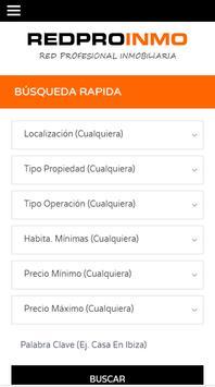 REDPROINMO | Red Profesional Inmobiliaria poster