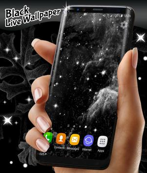 Black Live Wallpaper Free screenshot 5