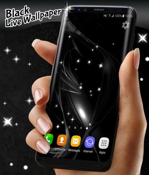 Black Live Wallpaper Free screenshot 6