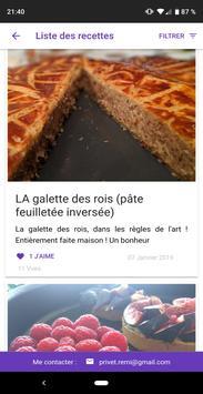 Blog Cuisine screenshot 1