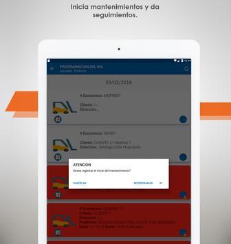 Mantenimiento de montacargas screenshot 19